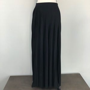 J. Crew Collection Pleated Maxi Skirt